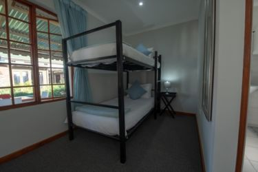 The Village Lodge Fynbos Bunk bed view