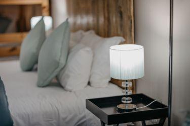 The Village Lodge Otter bedside lamp