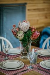 The Village Lodge tsitsikamma dinner table